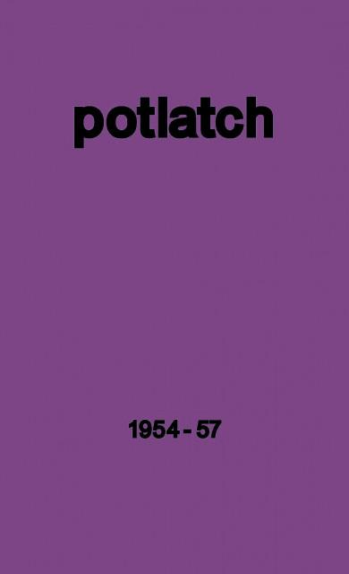 """Εξώφυλλο του βιβλίου: """"Potlatch"""""""